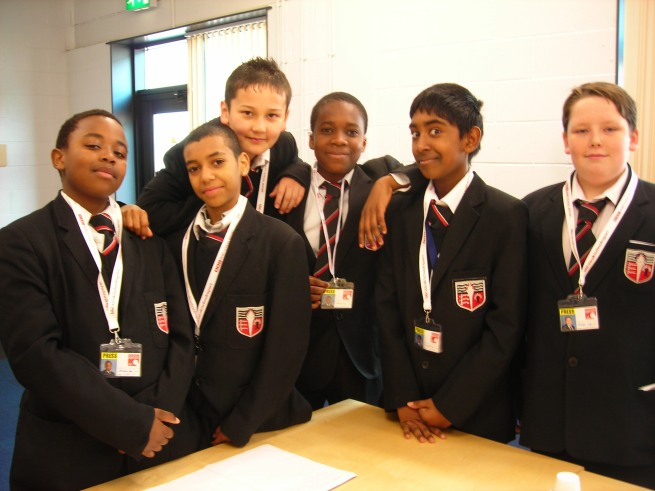 Our WHYS Brentside High reporters