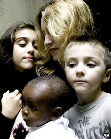 madonna's family