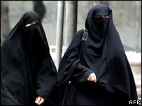 Burqa ladies