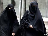 Burqa ladies