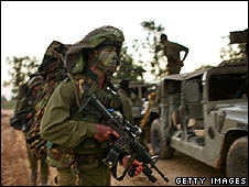 gaza soldiers