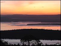 rwanda lake