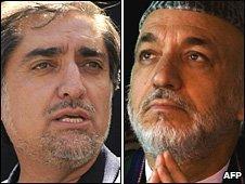 afghan candidates