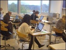 internet classroom